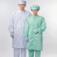 防静电大褂 TC棉工作服 静电防尘防护劳保衣服