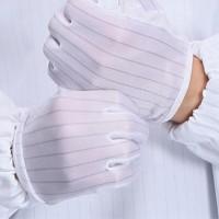 防静电手套丁晴乳胶手套一次性工业防护手套劳保手套