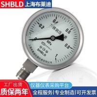 不锈钢压力表YTH-150HAO.M140布莱迪耐震压力表