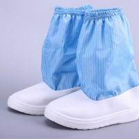 防静电中筒靴(加海绵