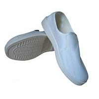 防静电PVC条纹中巾鞋 防静电鞋