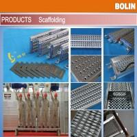 专业生产高强度耐用镀锌钢跳板