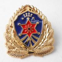 锌合金立体徽章、凹凸质感勋章、金属胸针生产厂家