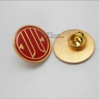中信银行LOGO徽章、烤漆滴胶襟章、金属胸徽生产