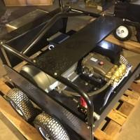 青岛轮船钢铁500公斤除锈高压清洗机没有压力维修换件