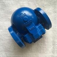 杆杠浮球式蒸汽疏水阀 铸钢法兰式杆杠浮球蒸汽疏水阀 意阀